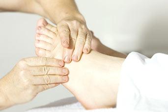 masaż stopy