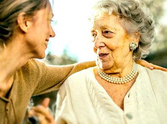 starsza kobieta Niemka